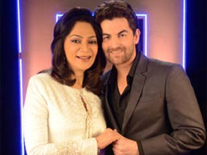 Neil Nitin Mukesh with Simi Garewal