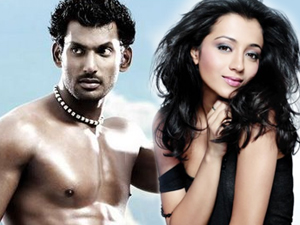 Vishal and Trisha