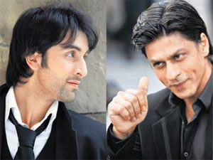 Shahrukh Khan and Ranbir Kapoor