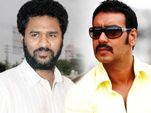 Prabhu Deva and Ajay Devgn