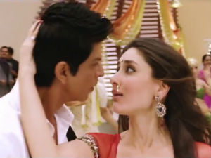 Shahrukh and Kareena in Chammak Challo