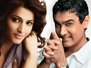 Shruti Hassan and Aamir Khan
