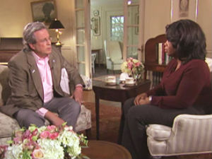 Oprah Winfrey with Dr. William Petit