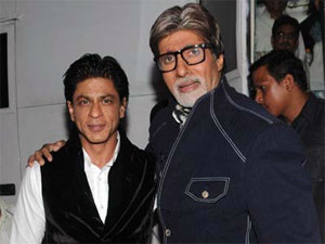 Shahrukh Khan and Amitabh Bachchan