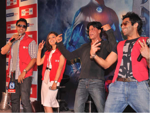 Shahrukh Khan promoting Ra.One