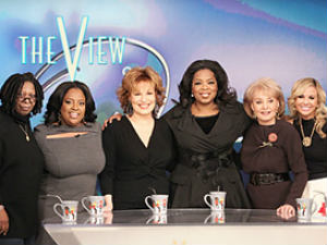 The View cast on Oprah Winfrey Show