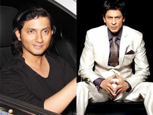 Shirish Kunder and Shahrukh Khan