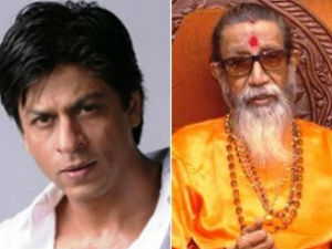 Shahrukh Khan and Bal Thackeray