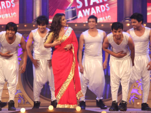 Vidya Balan on Airtel Superstar Awards show