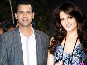 Rahul Mahajan and Monica Bedi