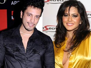 Akashdeep Saigal and Sunny Leone