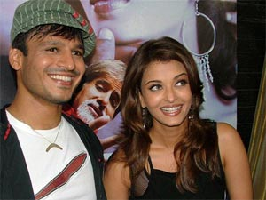 Aishwarya with Vivek Oberoi