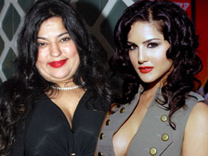 Dolly Bindra and Sunny Leone