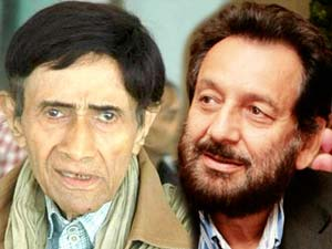 Dev Anand and Shekhar Kapoor