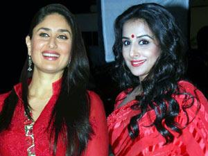 Vidya and Kareena
