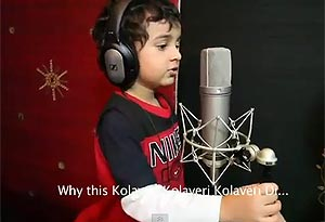 Watch Sonu Nigam's son Nevaan singing 'Kolaveri Di'