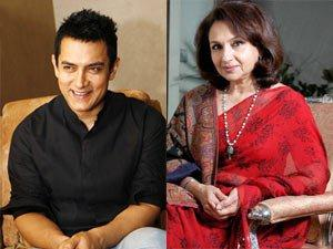 Aamir Khan and Sharmila Tagore