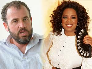 James Frey and Winfrey Oprah