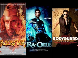 Rockstar, Ra.One and Bodyguard