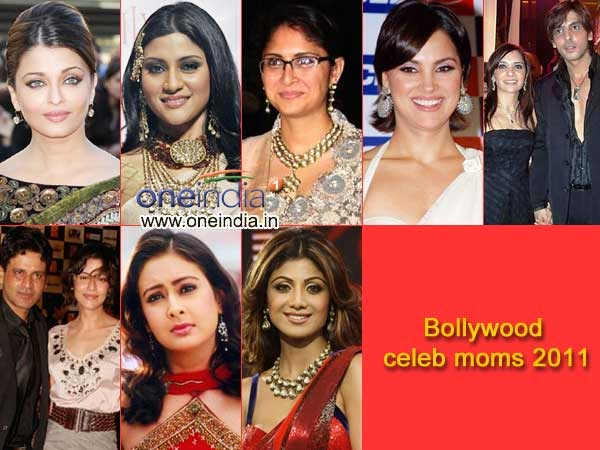 2011 Bollywood mommies