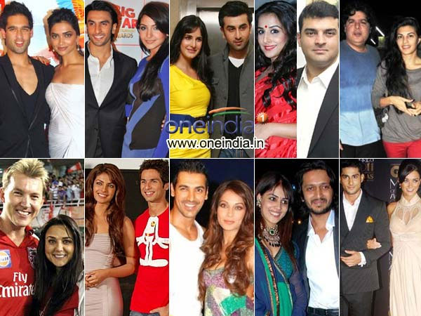 Bollywood love affairs of 2011
