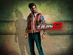 Shahrukh Khan in Don 2 game