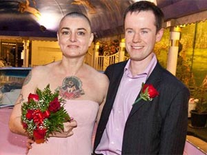 Sinead O'Connor with Barry Herridge
