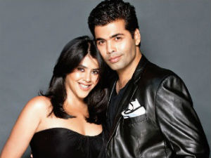 Karan Johar and Ekta Kapoor