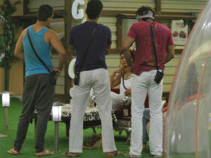 Bigg Boss 5 housemates getting into banter