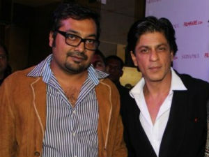 Anurag Kashyap and Shahrukh Khan