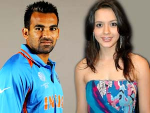 Zaheer Khan and Isha Sharvani
