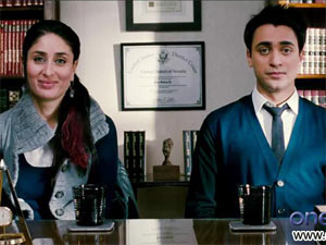 Kareena and Imran in Ek Main Aur Ekk Tu