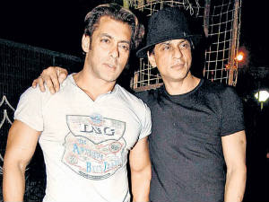 Salman and Shahrukh Khan