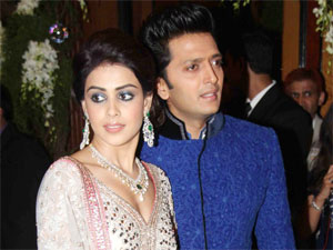 Genelia and Riteish
