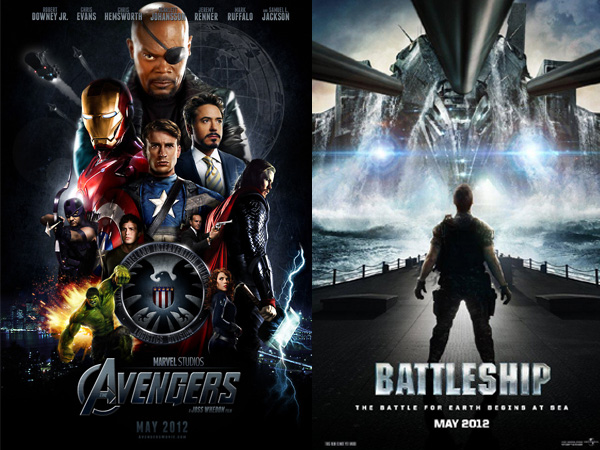 The Avengers and Battleship