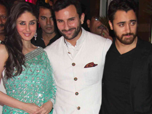Kareena, Saif and Imran