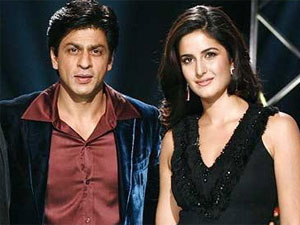 Shahrukh Khan and Katrina Kaif