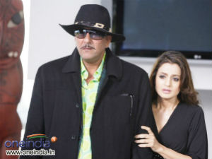 Sanjay Dutt and Ameesha Patel