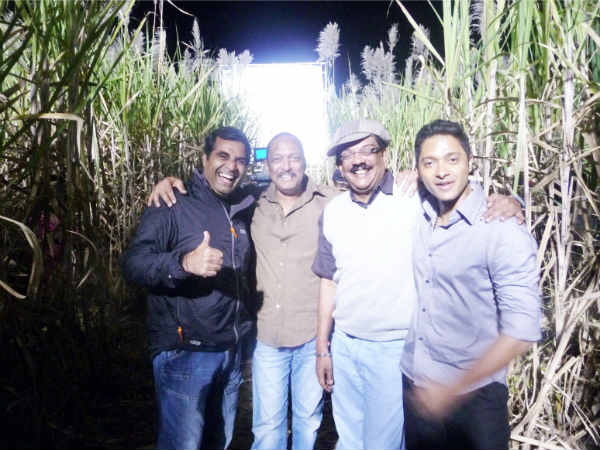 Nana Patekar, Shreyas Talpade at Malamaal Weekly 2 muhurtha