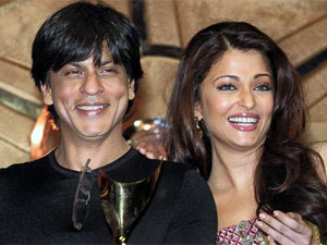 Shahrukh with Aishwarya