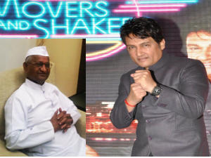 Shekhar to bring Hazare on Movers & Shakers