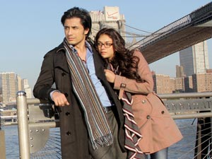 Ali Zafar and Aditi Rao in London Paris New York