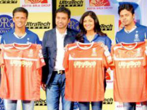 Rahul Dravid, Raj Kundra, Shilpa Shetty and Sreesanth