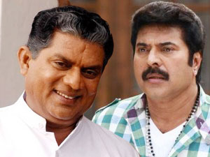 Mammootty with Jagathy
