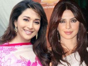 Madhuri Dixit and Priyanka Chopra