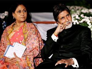 Jaya with Amitabh Bachchan