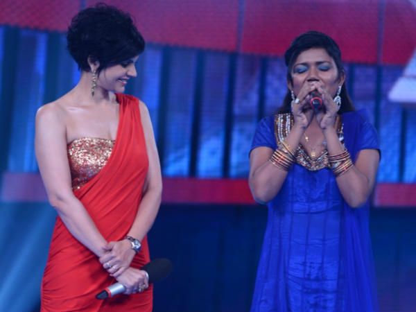 Mandira Bedi with Vaishali