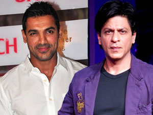 Shahrukh Khan and John Abraham