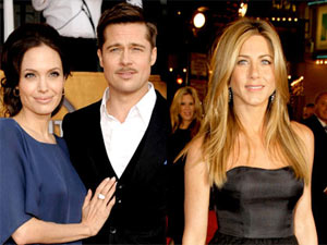 Angelina Jolie, Brad Pitt, Jennifer Aniston
