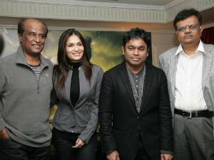 Rajinikanth, Soundarya and Rahman
